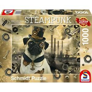 """Schmidt Spiele (59645) - Markus Binz: """"Steampunk Dog"""" - 1000 piezas"""