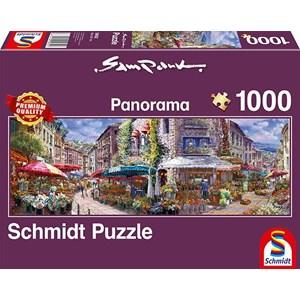 """Schmidt Spiele (59652) - Sam Park: """"Spring Atmosphere"""" - 1000 piezas"""