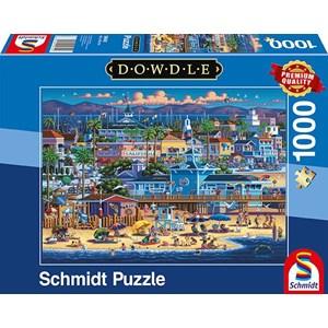 "Schmidt Spiele (59642) - Eric Dowdle: ""Newport Beach"" - 1000 piezas"