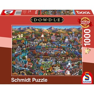 """Schmidt Spiele (59643) - Eric Dowdle: """"Solvang"""" - 1000 piezas"""