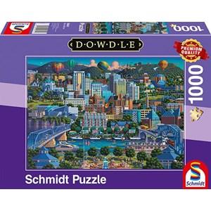 """Schmidt Spiele (59641) - Eric Dowdle: """"Chattanoga"""" - 1000 piezas"""