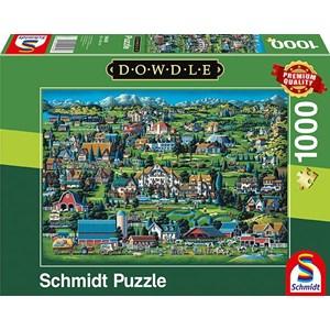 """Schmidt Spiele (59640) - Eric Dowdle: """"Midway"""" - 1000 piezas"""