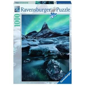 """Ravensburger (19830) - """"North Norway, Mount Stetind"""" - 1000 piezas"""