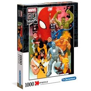"""Clementoni (39534) - """"Marvel 80 Years"""" - 1000 piezas"""