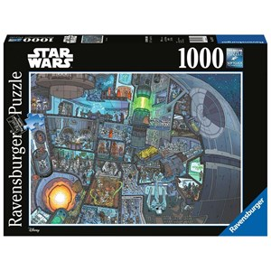 "Ravensburger (13976) - ""Where's Wookie?"" - 1000 piezas"
