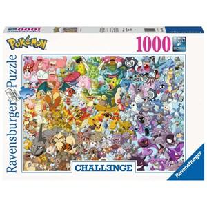 """Ravensburger (15166) - """"Pokemon"""" - 1000 piezas"""