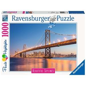 "Ravensburger (14083) - ""San Francisco"" - 1000 piezas"