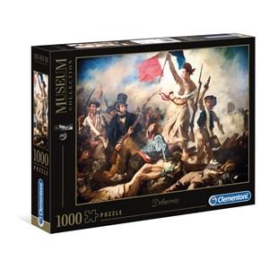 "Clementoni (39549) - Eugene Delacroix: ""Liberty Leading The People"" - 1000 piezas"