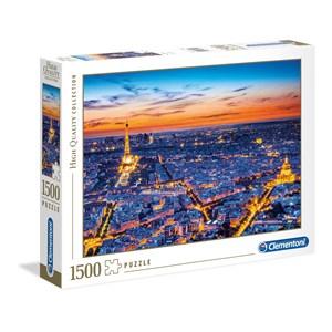 """Clementoni (31815) - """"Paris View"""" - 1500 piezas"""