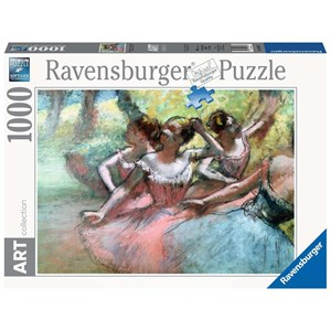 "Ravensburger (14847) - Edgar Degas: ""Four ballerinas on the stage"" - 1000 piezas"