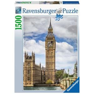 "Ravensburger (16009) - ""Funny cat on Big Ben"" - 1500 piezas"