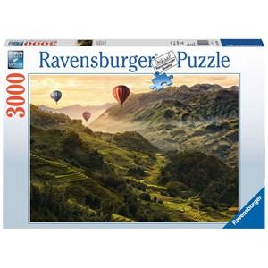 """Ravensburger (17076) - """"Rice terraces in Asia"""" - 3000 piezas"""