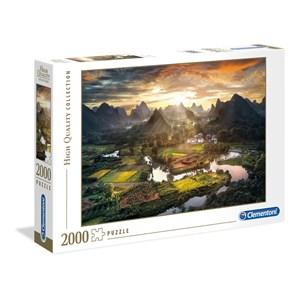 "Clementoni (32564) - ""View of China"" - 2000 piezas"