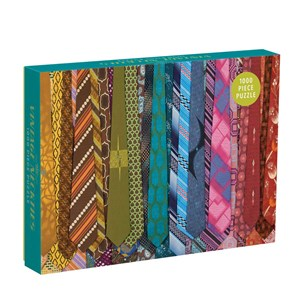 "Chronicle Books / Galison (34892) - ""Vintage Neckties"" - 1000 piezas"