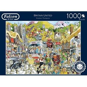 "Falcon (11197) - Graham Thompson: ""Britain United"" - 1000 piezas"