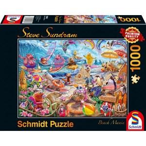 """Schmidt Spiele (59662) - Steve Sundram: """"Beach Mania"""" - 1000 piezas"""