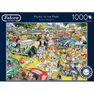 "Falcon (11199) - Graham Thompson: ""Picnic in the Park"" - 1000 piezas"