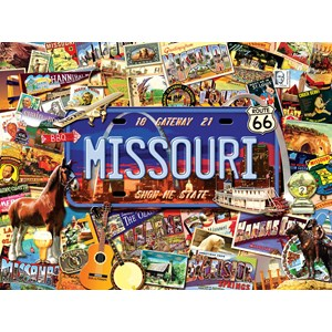"SunsOut (70038) - Kate Ward Thacker: ""Missouri, The ""Show Me"" State"" - 1000 piezas"