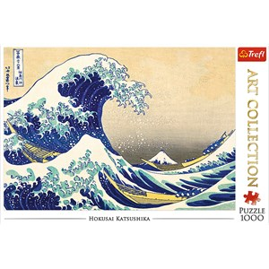 """Trefl (10521) - Hokusai: """"The Great Wave"""" - 1000 piezas"""