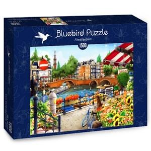 """Bluebird Puzzle (70143) - """"Amsterdam"""" - 1500 piezas"""