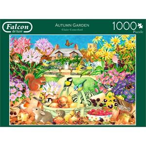 """Falcon (11222) - Claire Comerford: """"Autumn Garden"""" - 1000 piezas"""