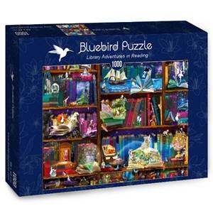 "Bluebird Puzzle (70313) - Alixandra Mullins: ""Library Adventures in Reading"" - 1000 piezas"