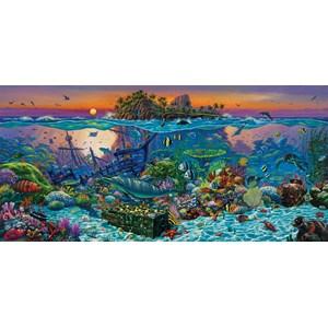 "SunsOut (20121) - Wil Cormier: ""Coral Reef Island"" - 1000 piezas"