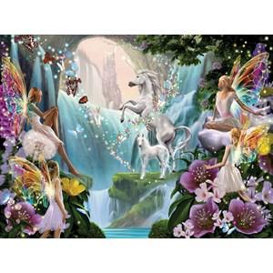 "SunsOut (47230) - Garry Walton: ""Unicorn and Fairy"" - 1000 piezas"