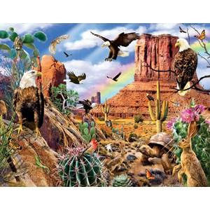 """SunsOut (35156) - Lori Schory: """"Desert Eagles"""" - 1000 piezas"""