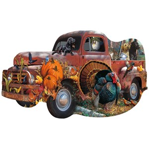 """SunsOut (96089) - Cynthie Fisher, Jerry Gadamus: """"Harvest Truck"""" - 1000 piezas"""