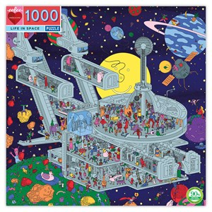 "eeBoo (PZTLIS) - Jim Stoten: ""Life in Space"" - 1000 piezas"