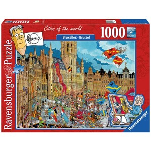 "Ravensburger (19895) - ""Brussel"" - 1000 piezas"