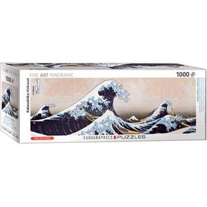 "Eurographics (6010-5487) - Hokusai: ""Great Wave of Kanagawa"" - 1000 piezas"
