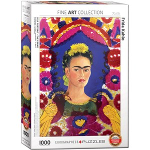 "Eurographics (6000-5425) - Frida Kahlo: ""Frida Kahlo, Self Portrait"" - 1000 piezas"