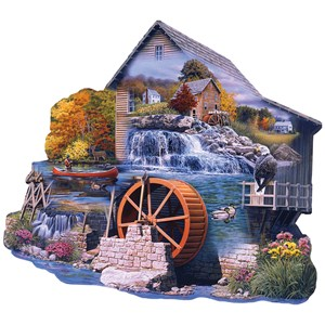 "SunsOut (95065) - Russell Cobane: ""The Old Mill Stream"" - 1000 piezas"