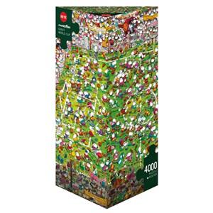 """Heye (29072) - Guillermo Mordillo: """"Crazy World Cup"""" - 4000 piezas"""