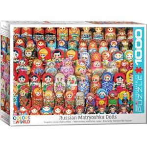 "Eurographics (6000-5420) - ""Russian Matryoshka Dolls"" - 1000 piezas"