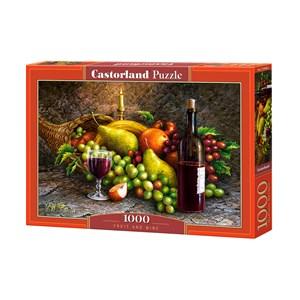 "Castorland (C-104604) - ""Fruit and Wine"" - 1000 piezas"