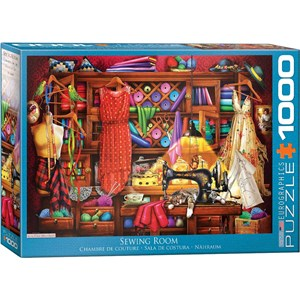 "Eurographics (6000-5347) - ""Sewing Room"" - 1000 piezas"