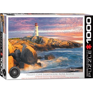 "Eurographics (6000-5437) - ""Peggy's Cove Lighthouse, Nova Scotia"" - 1000 piezas"