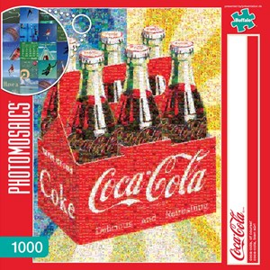 "Buffalo Games (11273) - Robert Silvers: ""Coca-Cola, of Course!"" - 1000 piezas"