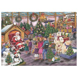 """The House of Puzzles (4951) - Ray Cresswell: """"Deck the Halls"""" - 1000 piezas"""