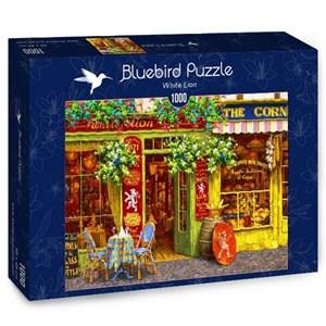 "Bluebird Puzzle (70062) - Viktor Shvaiko: ""White Lion"" - 1000 piezas"