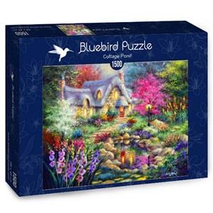 """Bluebird Puzzle (70060) - Nicky Boehme: """"Cottage Pond"""" - 1500 piezas"""