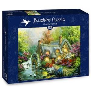 """Bluebird Puzzle (70063) - Nicky Boehme: """"Country Retreat"""" - 3000 piezas"""