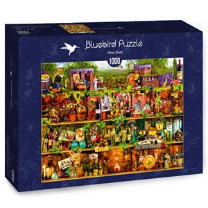 "Bluebird Puzzle (70304) - ""Wine Shelf"" - 1000 piezas"