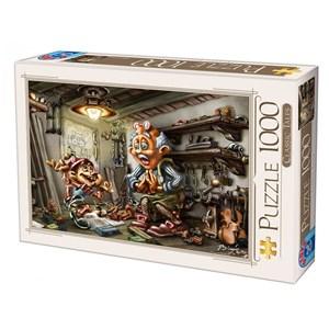 "D-Toys (72894-CT01) - Biro Donat: ""Pinnochio"" - 1000 piezas"