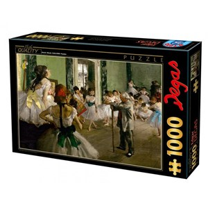 "Educa (72801) - Edgar Degas: ""The Dance Class"" - 1000 piezas"