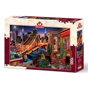 "Art Puzzle (5376) - ""Brooklyn By Terrace"" - 1500 piezas"