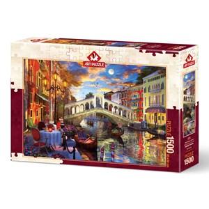 """Art Puzzle (5372) - """"Rialto Bridge, Venice"""" - 1500 piezas"""